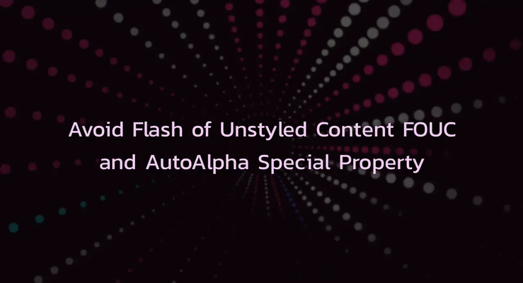 Quick Tip: Removing a Flash of Unstyled Content (FOUC)